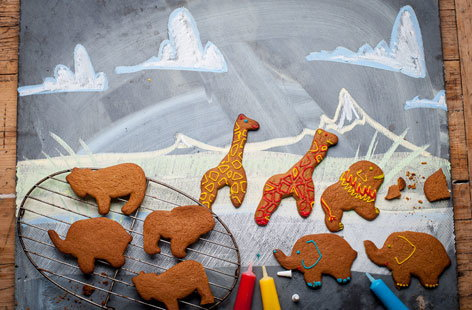 Andrew MacKenzie's gingerbread safari