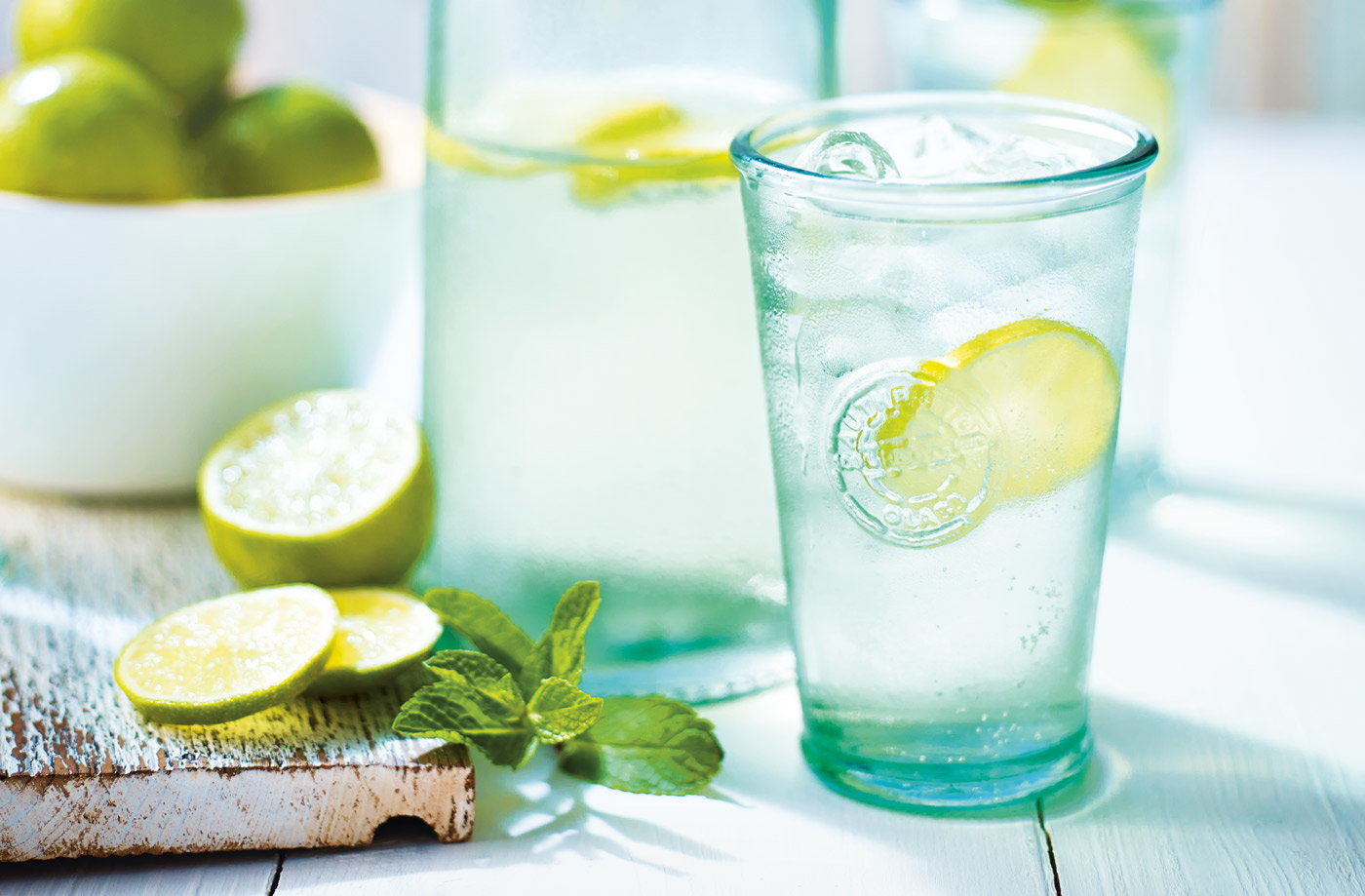 Ginger lime fizz recipe