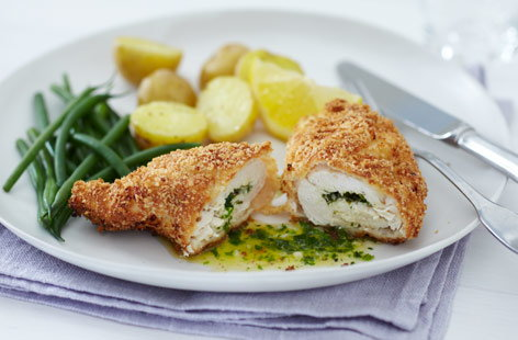 Chicken Kiev Recipe | Dinner Recipes | Tesco Real Food