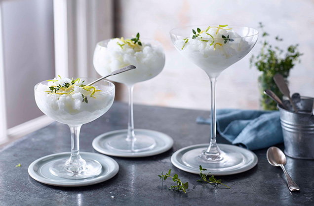 How to make gin and tonic granita