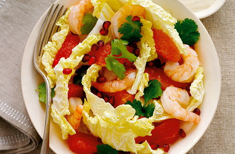 Grapefruit and Prawn Salad THUMB