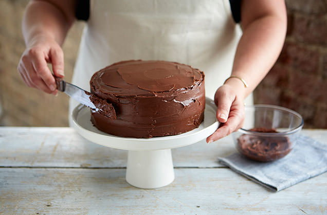 Gravity Defying Cake Cake Recipes Tesco Real Food