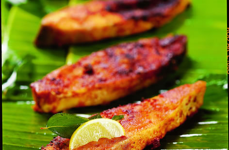 Grilled fish fillets tesco real food for How to grill fish fillet