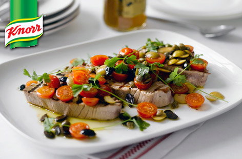 (t)Grilled Tuna Steaks