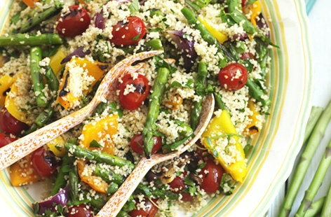 GRILLED VEGETABLE COUSCOUS   THUMB