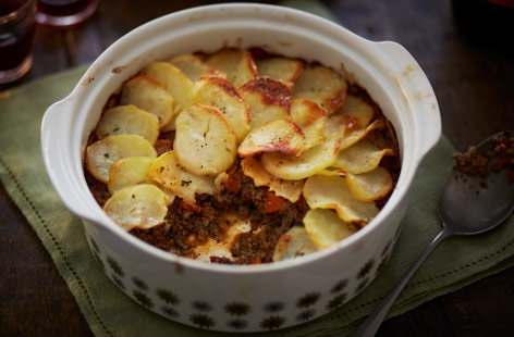 Minted lamb Shepherd's pie recipe
