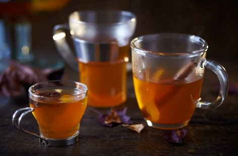Looking for a warming festive drink, but not a fan of wine? Try mulled cider. This one is made with sweetly spicy cinnamon, star anise and zesty orange and lemon zest. Let's not forget the vital ingredient – cider!