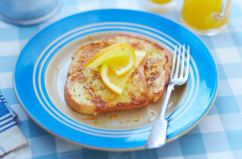 Orange vanilla French toast recipe