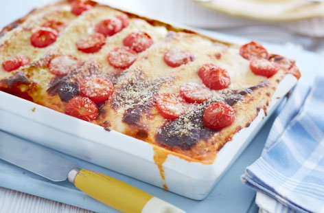 Pork, lemon and spinach cannelloni