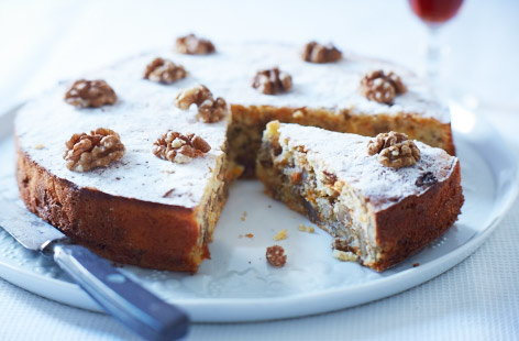 Sultana and walnut cake recipe