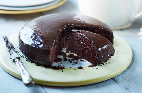 Ultimate egg-free chocolate cake  recipe