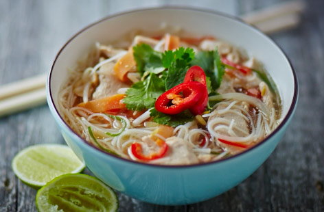 Vietnamese Chicken Pho | Soup Recipes | Tesco Real Food