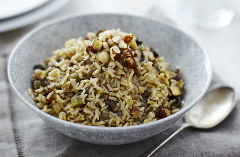 HEALTHY BrownRicePilaf Th