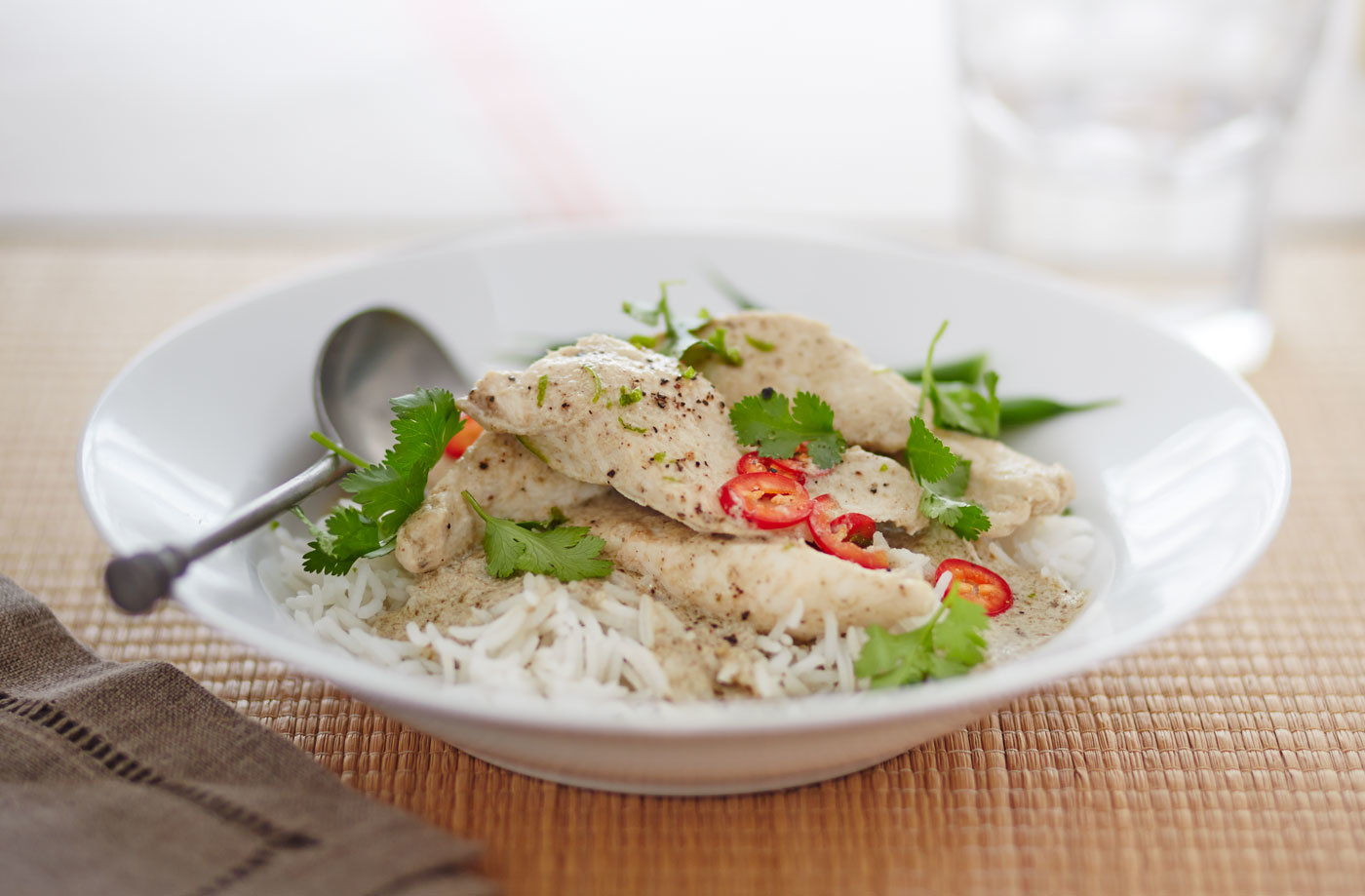 Quick Thai green curry recipe