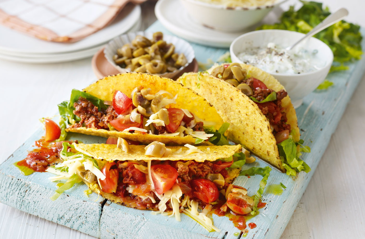 Harissa lamb tacos recipe