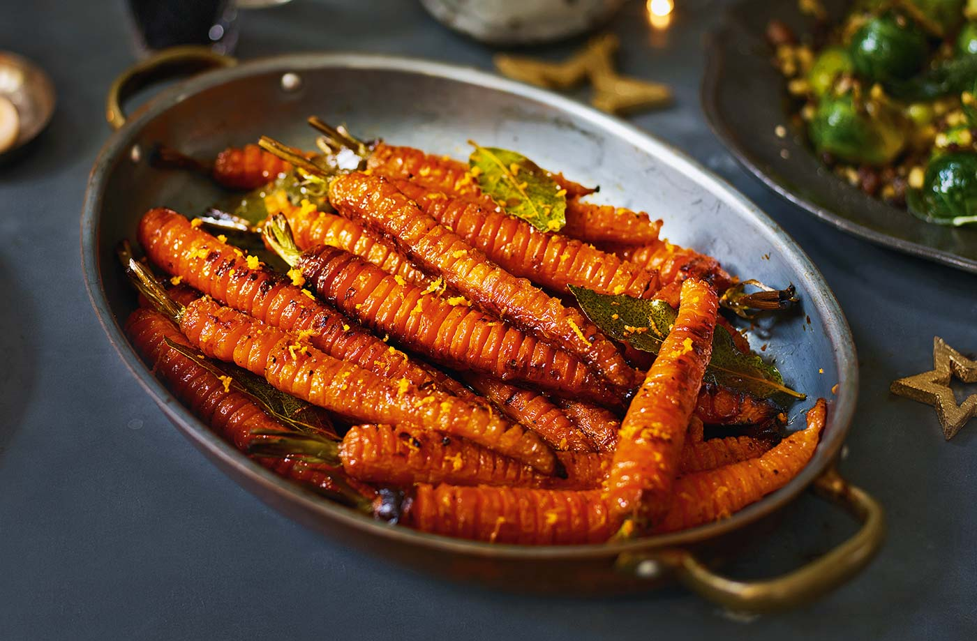 Hasselback carrots recipe