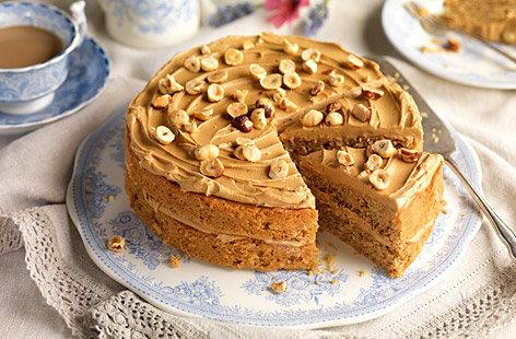 Coffee Cake Recipe Cake Recipes Tesco Real Food