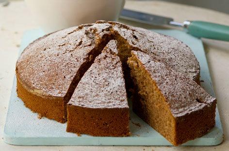 Healthy dark chocolate cake   Tesco Real Food