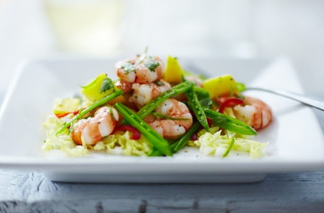 prawn and mango salad tesco real food
