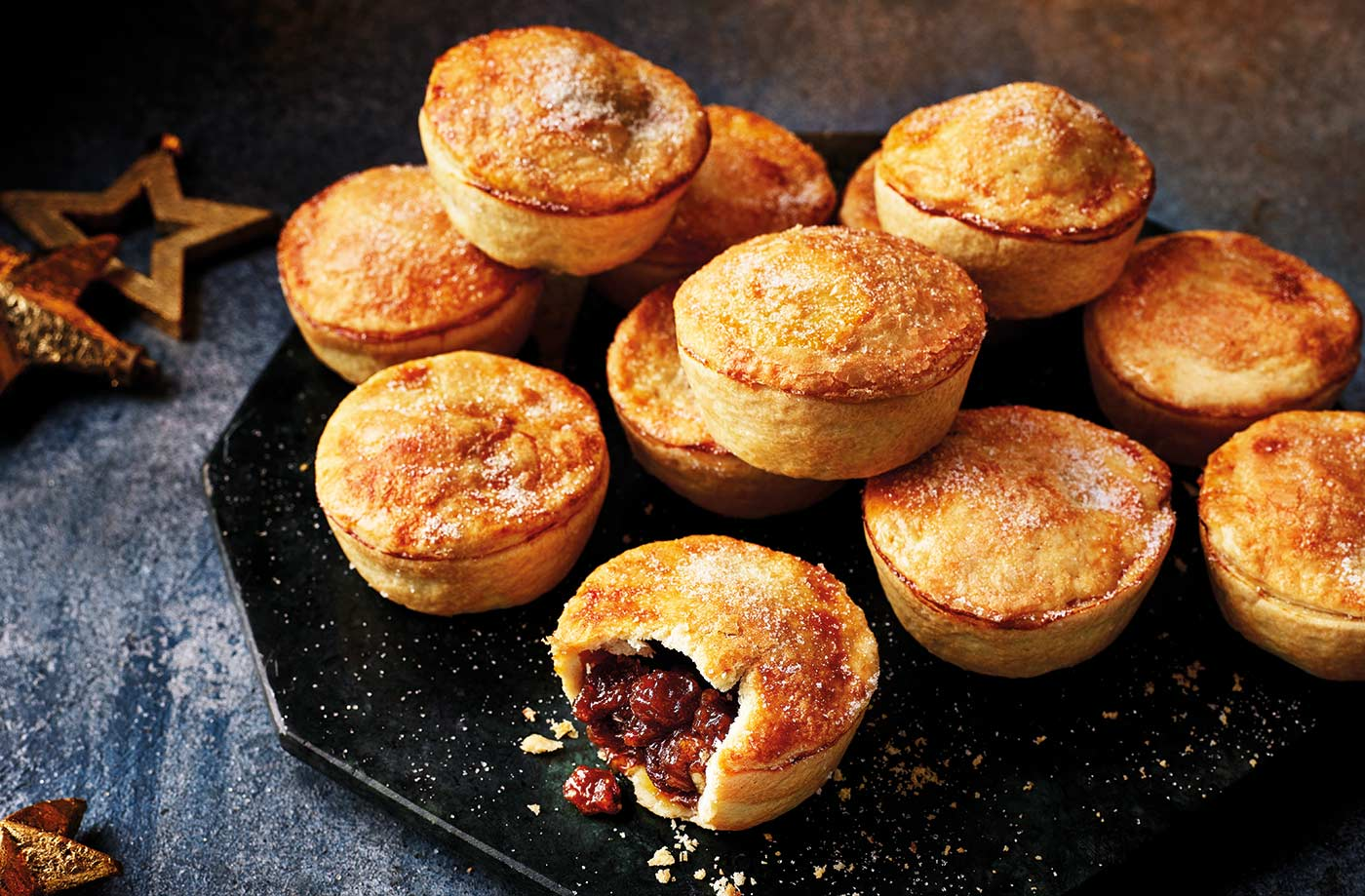 Homemade mince pies recipe