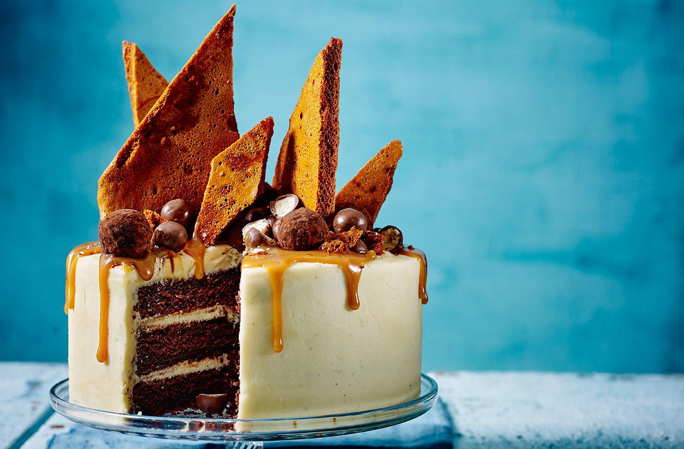 Chocolate Cake Recipe Uk Tesco: Chocolate Crackle Cake