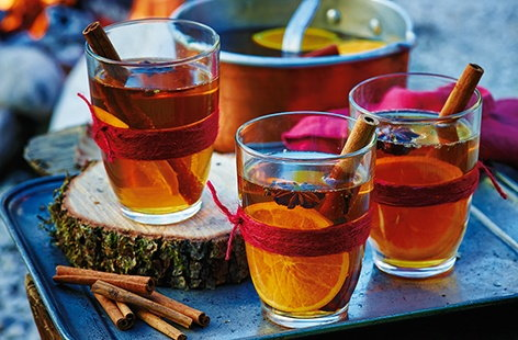 Warming Bonfire Night drinks