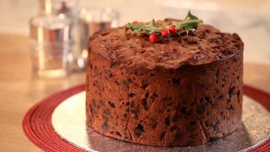 Tesco Royal Iced Christmas Cake