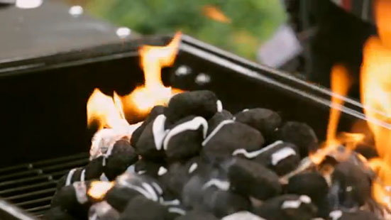 How to start charcoal bbq
