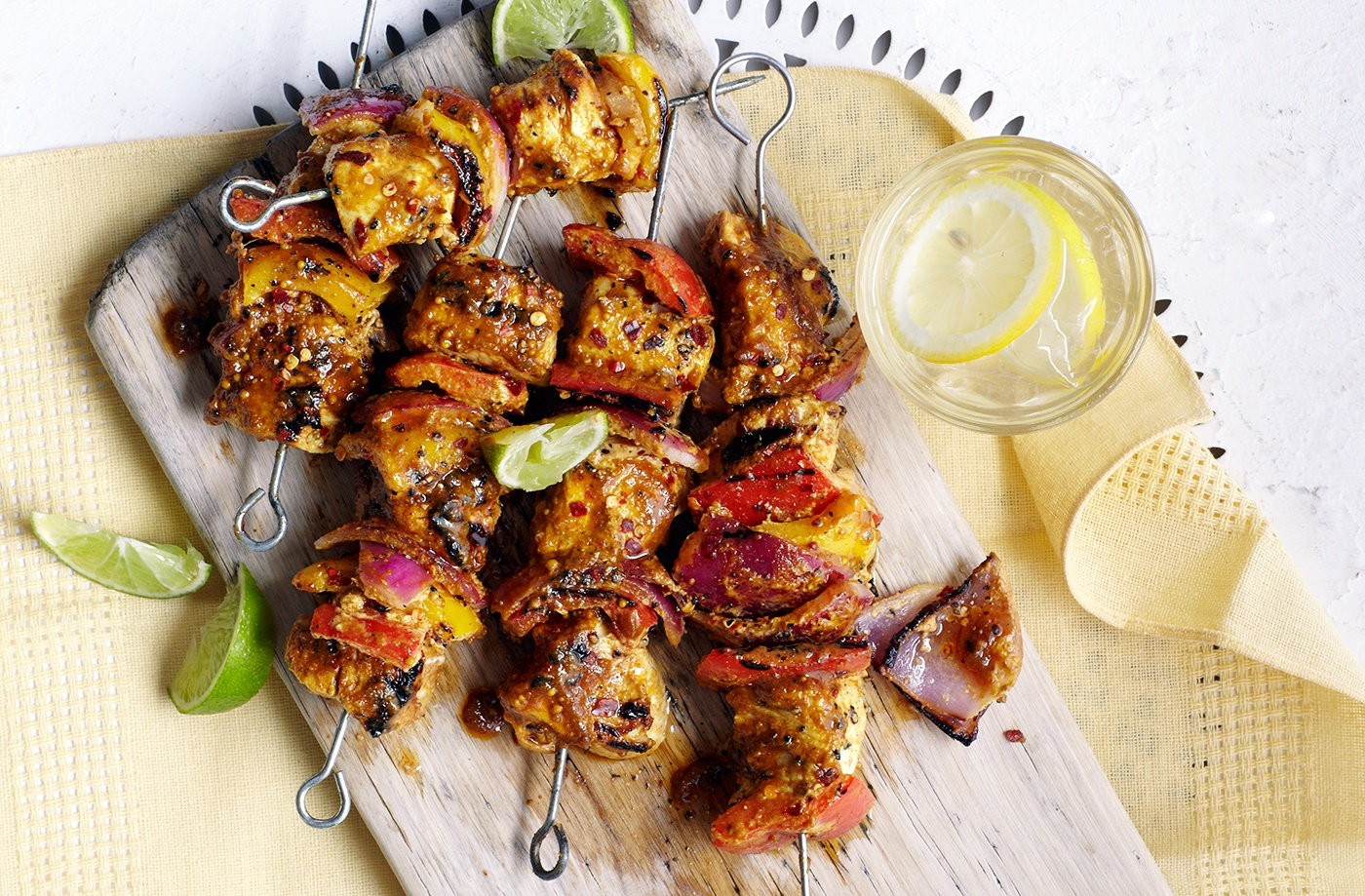 Spicy Indian Chicken Kebabs With Curry Marinade Tesco Real Food
