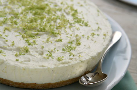 Delicious key lime pie