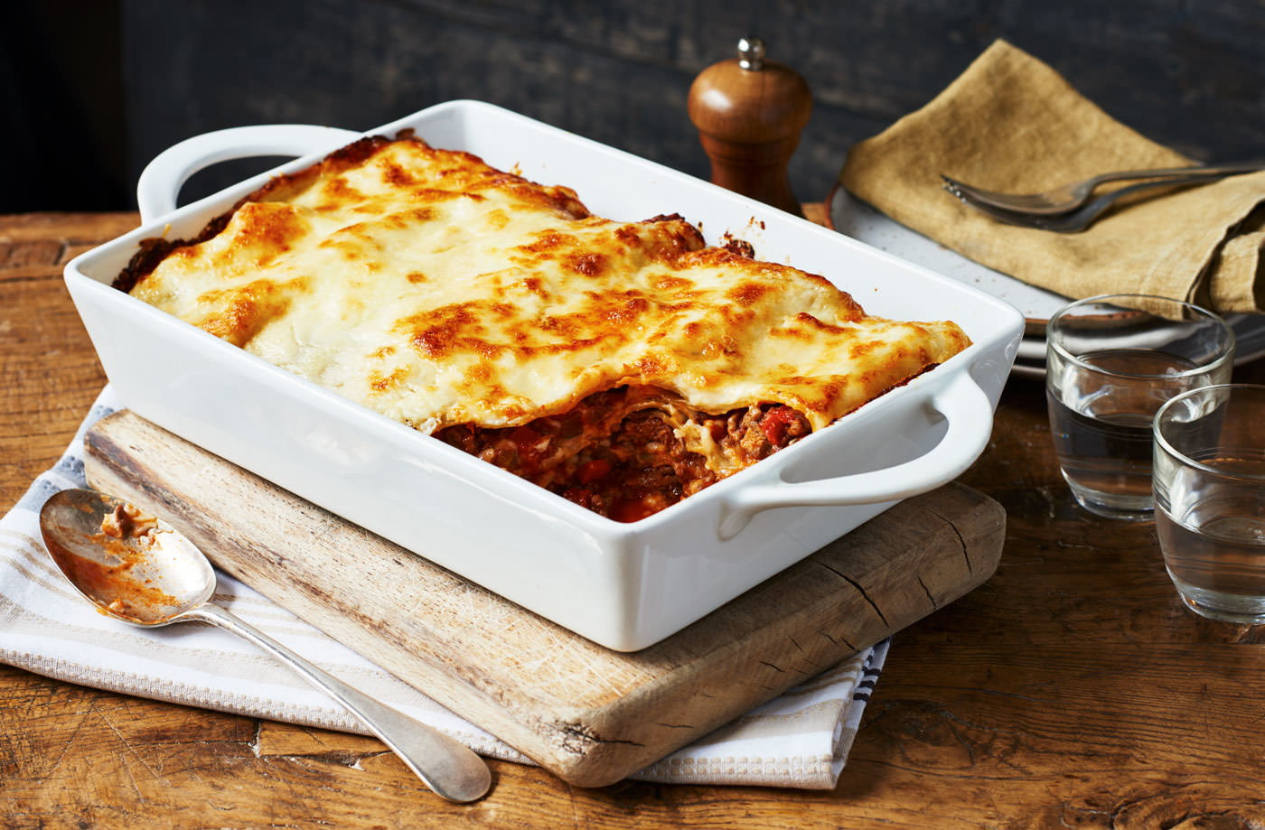 Easy Lasagne Recipe Lasagne Recipes Tesco Real Food