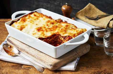 Simple lasagne