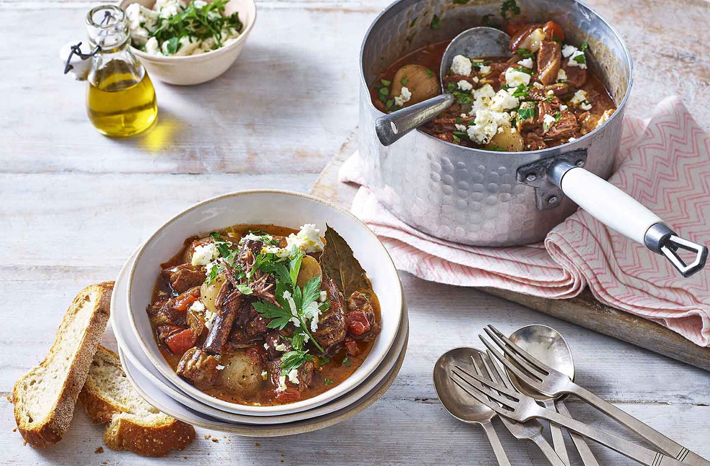 Lamb stifado recipe
