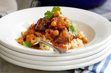 Lamb Tagine with Chickpeas and Couscous hero 863cc4e5 05a2 4658 b0a2 6b8c87573692 0 472x310