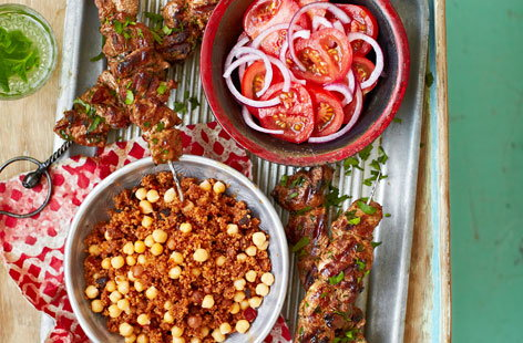 These lovely lamb brochettes offer an incredibly authentic taste of Morocco