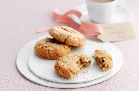 Chocolate, limón y blanco Día de la Madre las cookies HERO