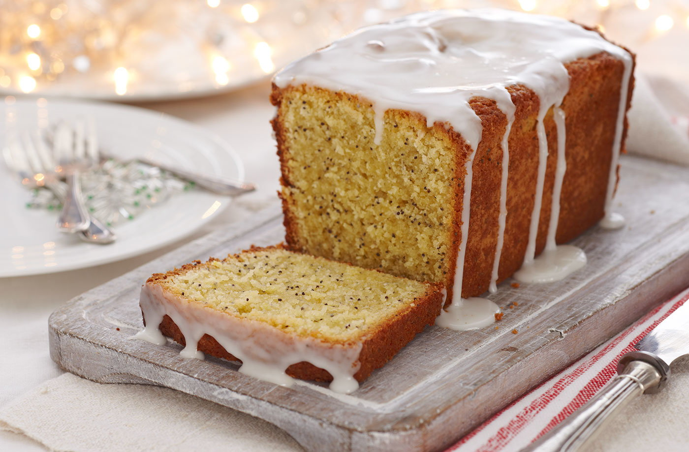 Good Food Gluten Free Lemon Drizzle Cake