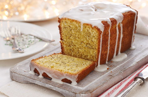 Lemon Drizzle & Poppy Seed Cake