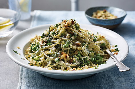 This light and healthy pasta dish is perfect for a midweek family dinner