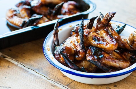 Mark Dodson's sticky chicken wings