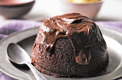 Malted Chocolate Steamed Pudding (t)