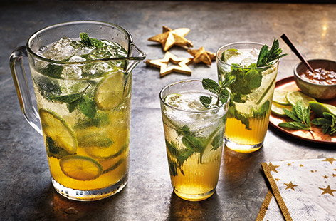 Add a sweet, festive twist to a classic mojito recipe with a surprising secret ingredient – marmalade!