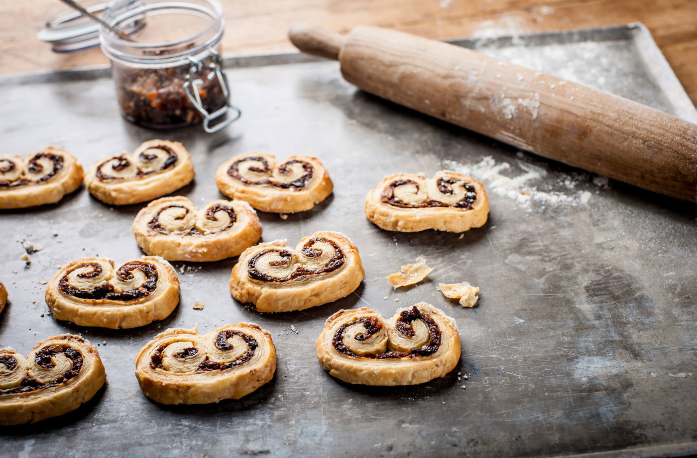 Adam Byatt's mini mincemeat puffs recipe