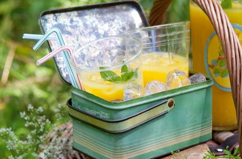 Minted pineapple cooler HERO