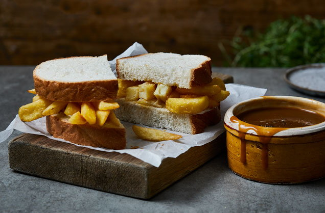 Ultimate chip butty