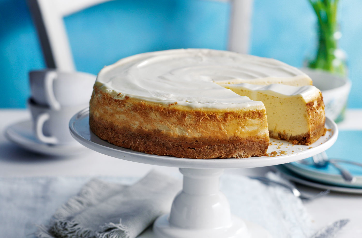 New York Style Baked Cheesecake Tesco Real Food