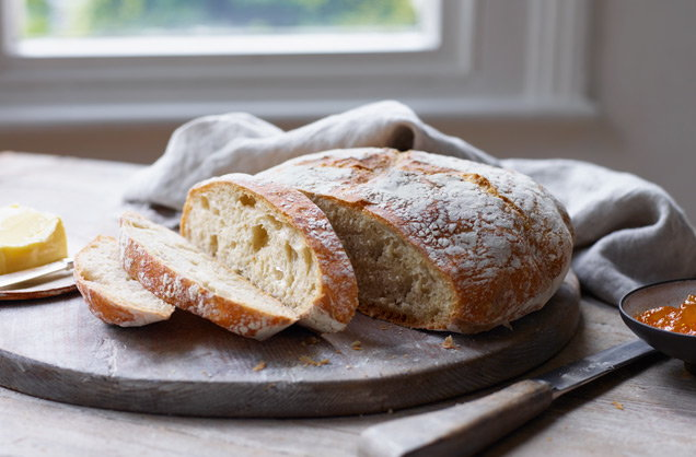 How to make easy no-knead bread