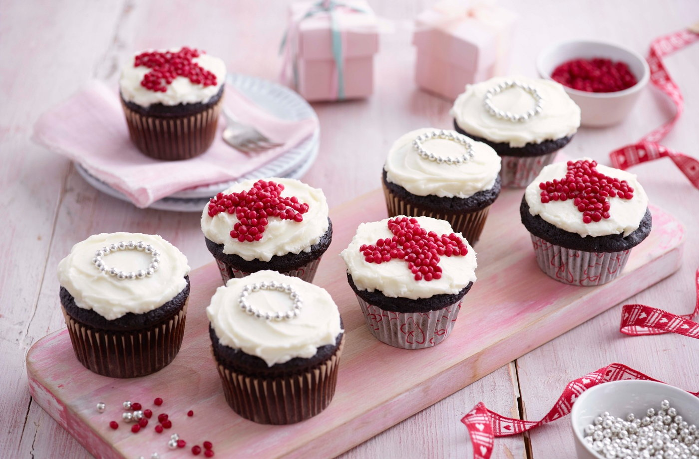 XOXO Red Velvet Cupcakes Recipe