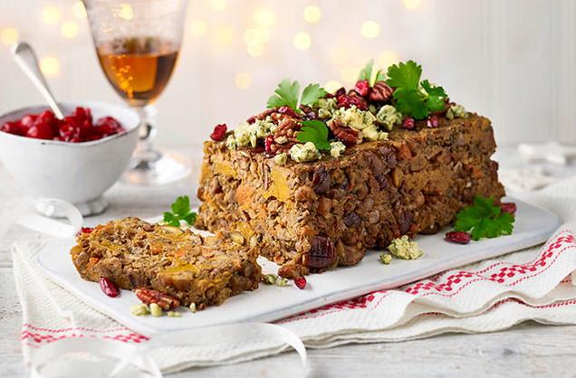 Christmas Nut Roast Recipe Vegetarian Christmas Tesco Real Food