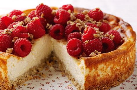 Oaty baked cheesecake | Tesco Real Food